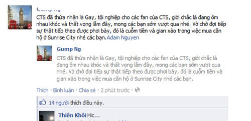 Adam Nguyễn tung bằng chứng chuyển tiền cho Cao Thái Sơn - 2
