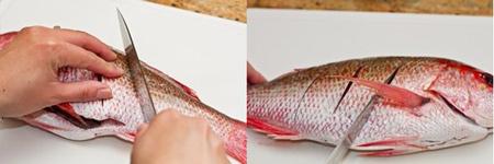 Mê mẩn món cá hồng hấp của vợ - 4