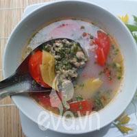 Canh hà nấu chua ngon tuyệt nhé!
