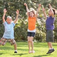Trẻ năng động là trẻ khỏe mạnh
