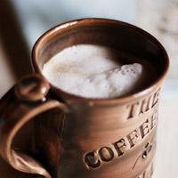 Làm bông sữa uống cà phê nào
