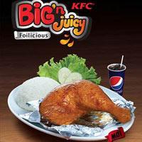 Gà Big 'n Juicy – Món quà bất ngờ cho cuộc sống
