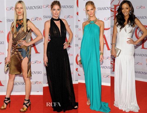 Chân dài chuộng váy xẻ hút mắt tại 'Oscar Thời trang' - 3