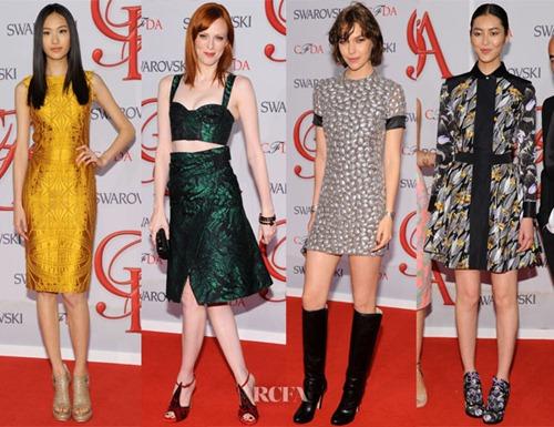 Chân dài chuộng váy xẻ hút mắt tại 'Oscar Thời trang' - 2