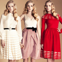 Đẹp lãng mạn với thời trang thập niên 50