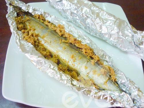 Cá kìm nướng giấy bạc thơm ngon - 7