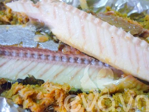 Cá kìm nướng giấy bạc thơm ngon - 10