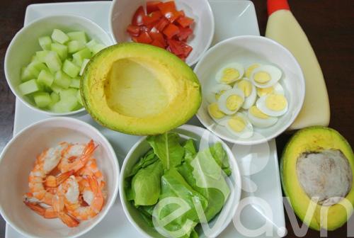 Salad tôm bơ ngon tuyệt - 3