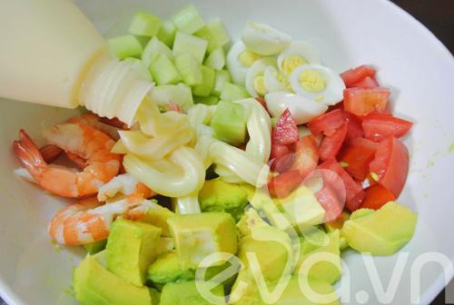 Salad tôm bơ ngon tuyệt - 5