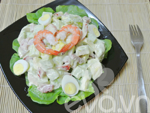 Salad tôm bơ ngon tuyệt - 6