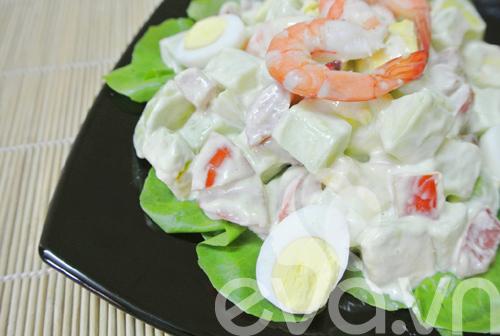 Salad tôm bơ ngon tuyệt - 8