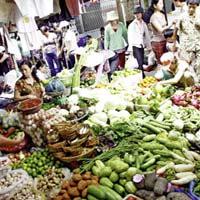 Giá cả thực phẩm chợ Tân Bình 12-6