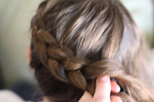 Tết tóc viền làm điệu cho bé - 3