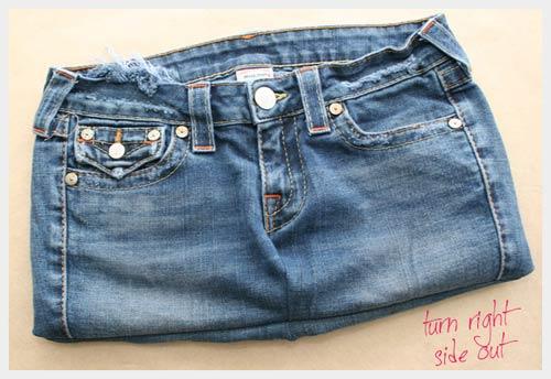 Выкройка сарафана из старых джинсов своими руками