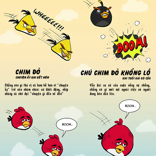 "Chơi Angry Birds, đoán thử ""chuyện ấy"" - 2"