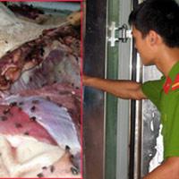 Rợn người: Ruốc chế từ thịt lợn thối