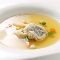 Súp hoành thánh hải sản rau củ