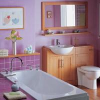 'Kéo rộng' phòng tắm chật
