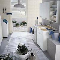 7 bí quyết tạo sức sống cho phòng giặt là