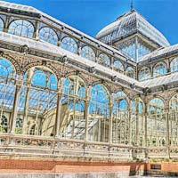 Lung linh cung điện pha lê ở Madrid