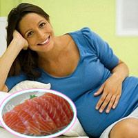 Cá hồi – thực phẩm vàng cho mẹ bầu