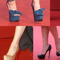 Cận cảnh giày cao gót của sao Hoa ngữ