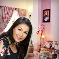 Ngó nhà ngập hạnh phúc của Kim Xuân