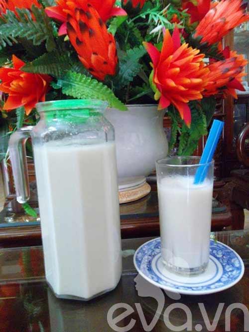 Bổ mát với sữa đậu nành tự làm - 10