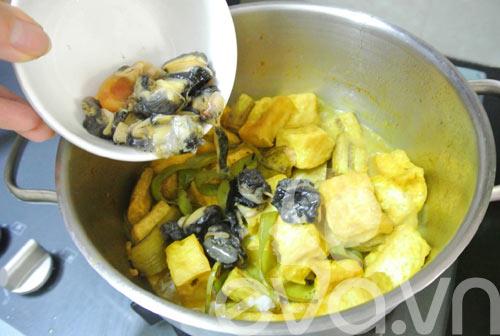 Ốc nấu chuối đậu ngon miễn chê - 6