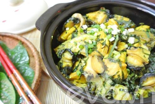 Ốc nấu chuối đậu ngon miễn chê - 10