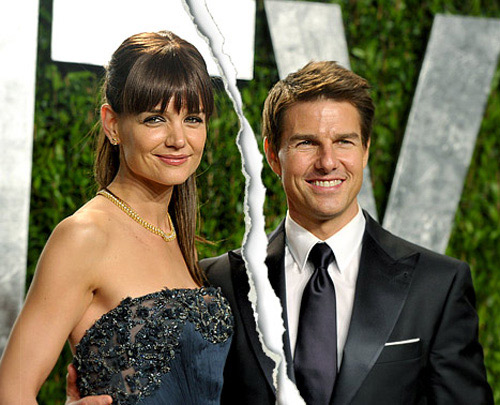 Hot: Tom Cruise v Katie Holmes chia tay - 1