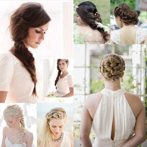 Rạng ngời xu hướng tóc cưới 2013 -thoi trang| Thoi trang trên