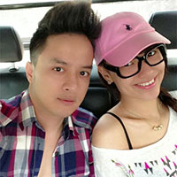 Cao Thái Sơn đi tắm nắng cùng Hồng Quế
