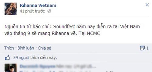 rihanna to chuc concert tai vn vao thang 9? - 1
