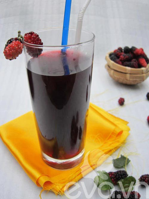 Giải khát với nước dâu tằm mùa nắng - 9