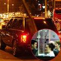 Làng sao - Bạn trai lái xế đưa Hoàng My tới phòng tập