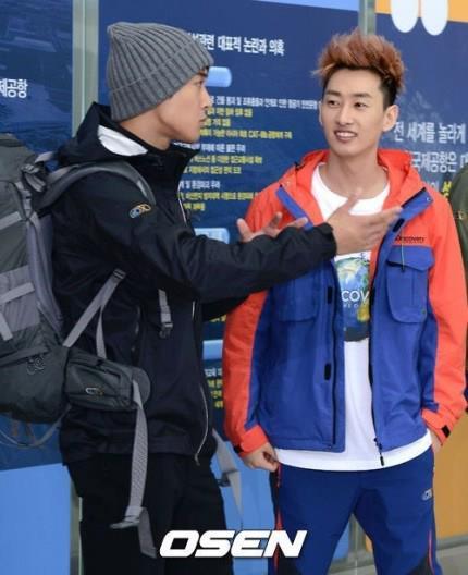 kim hyun joong, eunhyuk tren duong den vn - 10