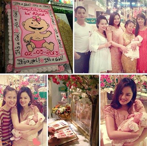 vu thu phuong lam day thang cho con gai - 1