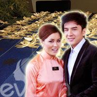 Lộ thiệp mời cưới của Đan Trường - Thủy Tiên