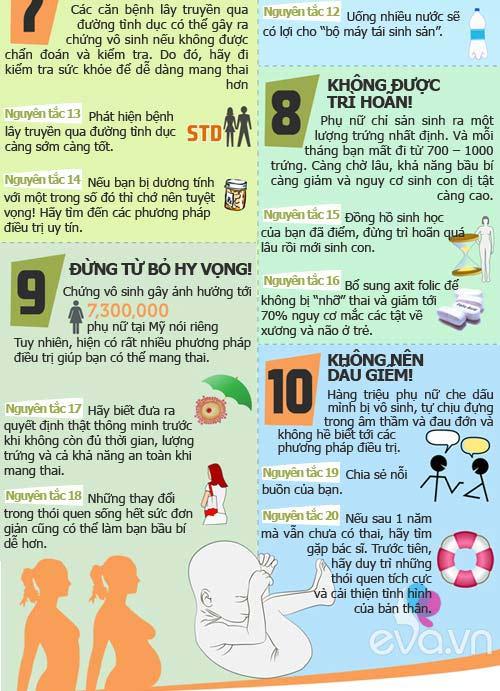 top 10 nguyen tac de nhanh co bau - 3