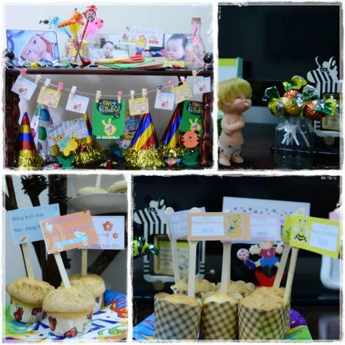Mách mẹ tip tổ chức sinh nhật cho bé - 1