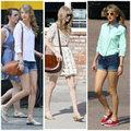 Thời trang - Bắt nhịp 3 mốt giày hot mùa hè cùng Taylor Swift