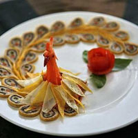 Trang trí để món ăn đẹp lung linh