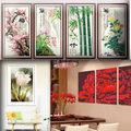 Nhà đẹp - Tranh chữ thập đẹp mê hồn đủ kiểu hoa