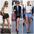 Thời trang - Hè cực chất với bộ đôi anke boot và quần sooc