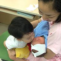 Lộ ảnh con gái đáng yêu của Ốc Thanh Vân