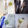 Thời trang - Chọn hoa cài áo cho chú rể