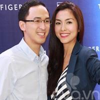 Vợ chồng Hà Tăng sánh đôi hạnh phúc