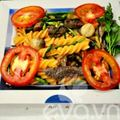 Bếp Eva - Nui xào lòng đón tuần mới