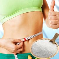 Chiêu giảm mỡ bụng sau sinh bằng muối